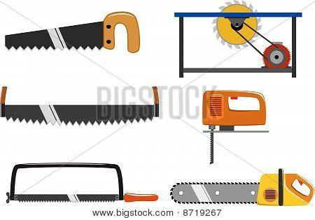 Set of saw