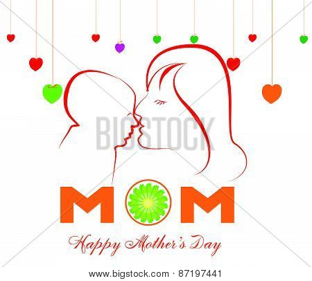Happy Mothers Day celebration