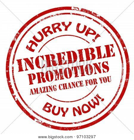 Incredible Promotions