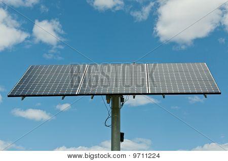 Photovoltaic Solar Panel Array - Renewable Energy