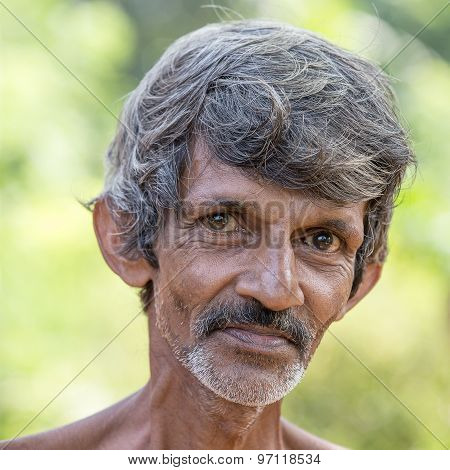 Sri Lankan Beggar man