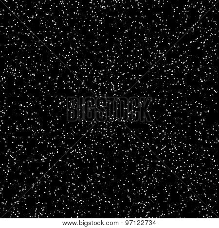 Space stars colored seamless vector pattern