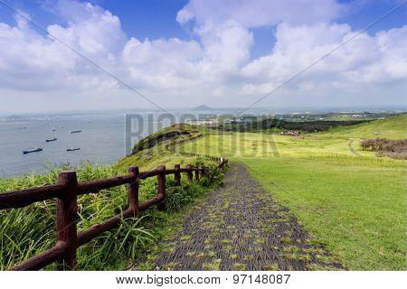 Landscape of Jeju Island, South Korea