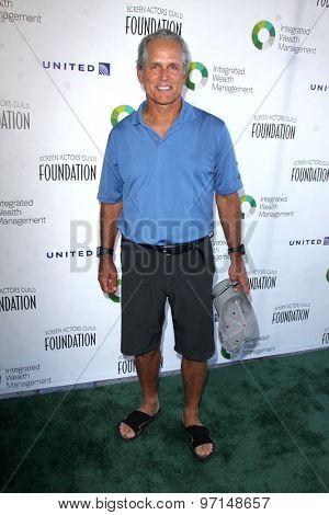 LOS ANGELES - JUN 8:  Gregory Harrison at the SAG Foundations 30TH Anniversary LA Golf Classi at the Lakeside Golf Club on June 8, 2015 in Toluca Lake, CA