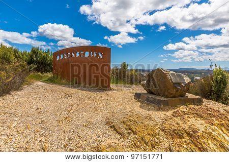 Queenstown Tasmania Lookout