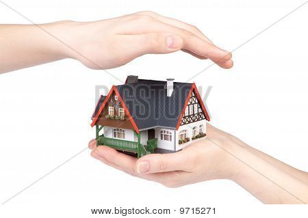 Hands With House