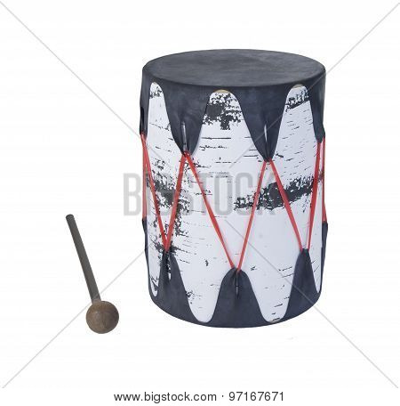 Wooden Tree Drum