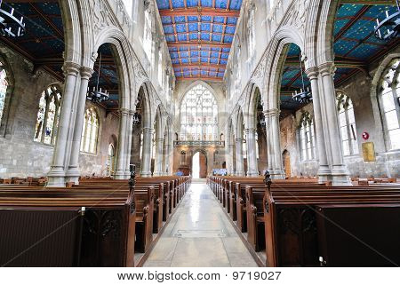 St. Mary's Cathedral Interior