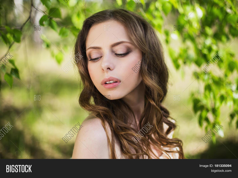 beauty portrait very pretty young image amp photo bigstock