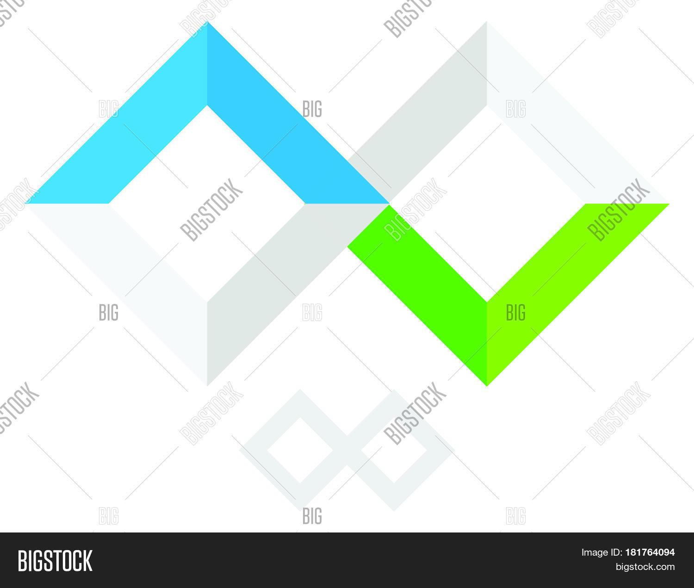 Infinity Symbol Logo Vector Photo Free Trial Bigstock