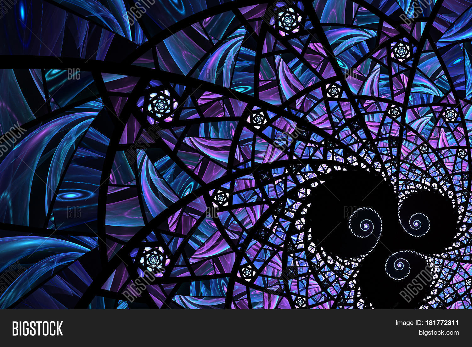 Abstract Computer Image Photo Free Trial Bigstock
