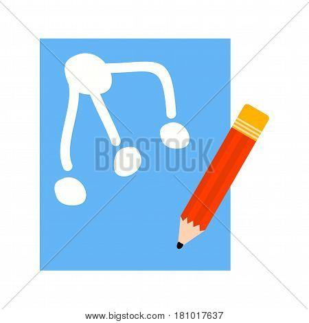Prototype, drawing, application icon vector image. Can also be used for business administration. Suitable for mobile apps, web apps and print media.