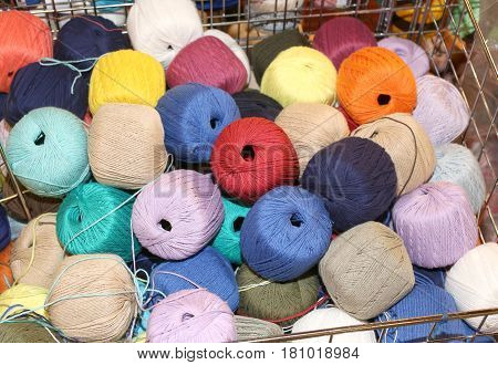 Wool Balls On Sale In The Haberdashery