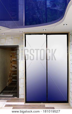 Wardrobe. The manufacture of furniture. Interior design.