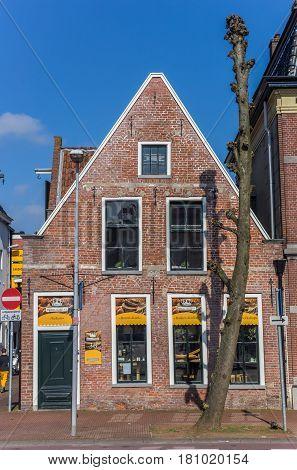 GRONINGEN, NETHERLANDS - APRIL 02, 2017: Old bakery shop in the historic center of Groningen, Holland