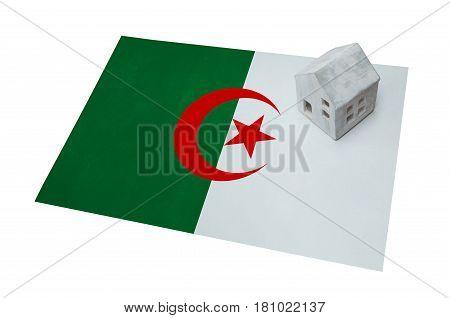 Small House On A Flag - Algeria