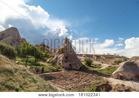 Tufa Cave And Chimney