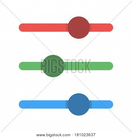 Web, button, slider icon vector image.Can also be used for web interface. Suitable for mobile apps, web apps and print media.