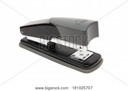 Close op of Stapler isolate on a white background