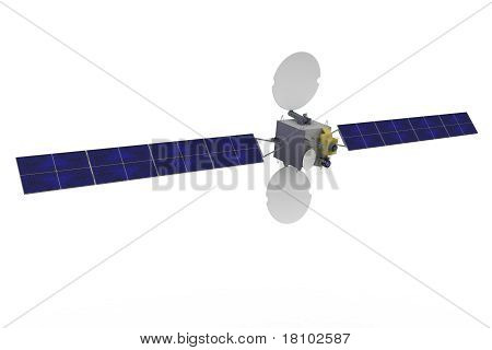 3D Satellite Geostationary