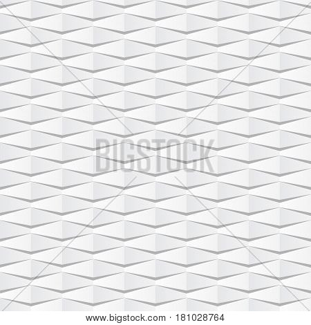 White seamless paper background with many pieces