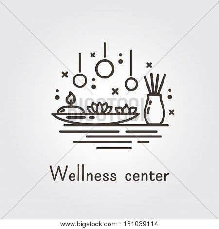 Wellness Center - Logo Template