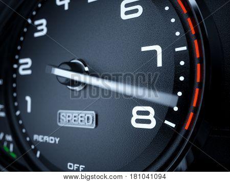 Tachometer Max Boost