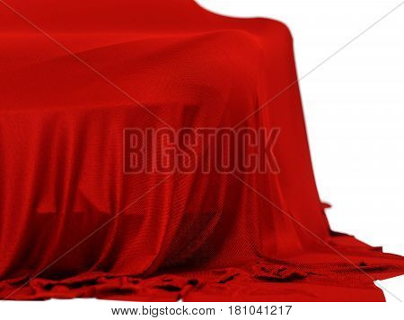 Racing Car Covered