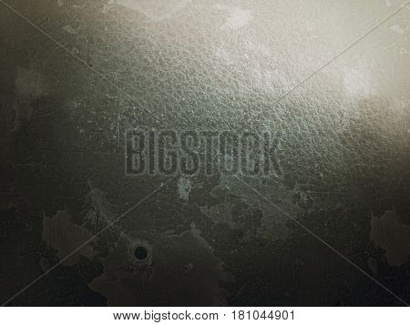 Abstract dark background with film grain, artifacts and dirt