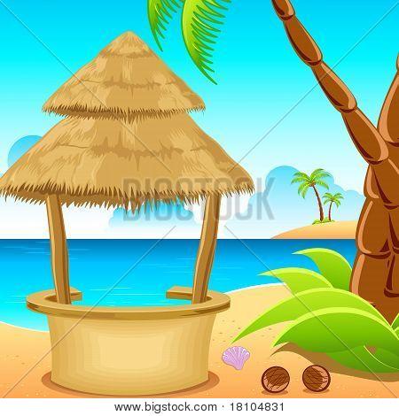 Hut on Beach