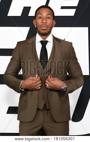 NEW YORK-APR 8: Actor/rapper Christopher 'Ludacris' Bridges attends the premiere of