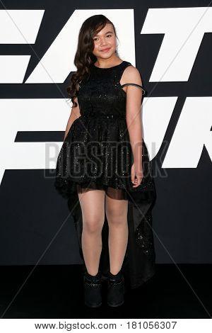NEW YORK-APR 8: Actress Eden Estrella attends the premiere of