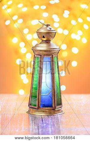 A Traditional Ramadan Lantern
