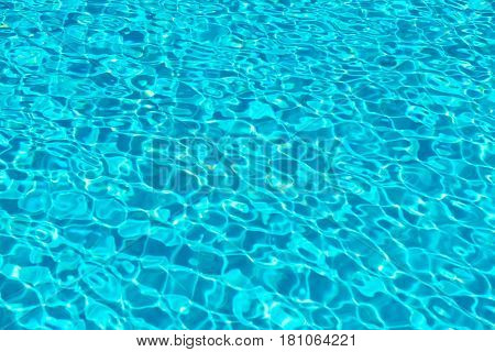 Rippled Texture Of Swimming Pool