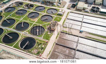 Sewage Farm: Waste Water Treatment Plant