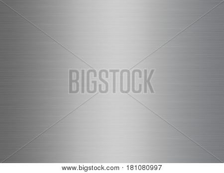 Abstract background with silver texture and light reflection