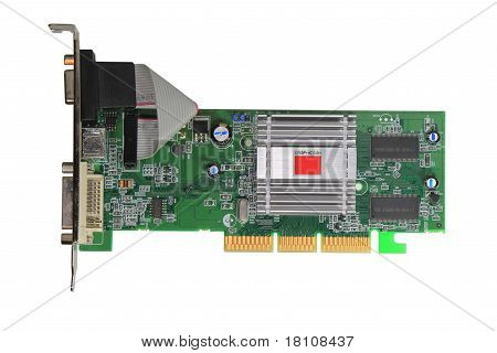 A Computer Graphics Card