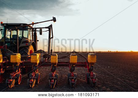 Preparing Farm Land For Next Year