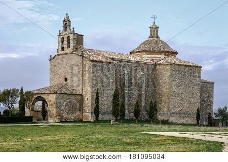 Shrine of Our Lady of La Llana the Almenar of Soria Spain