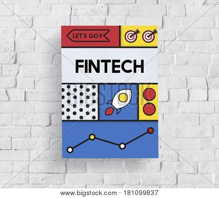 Fintech Financial Technology Money Business Word