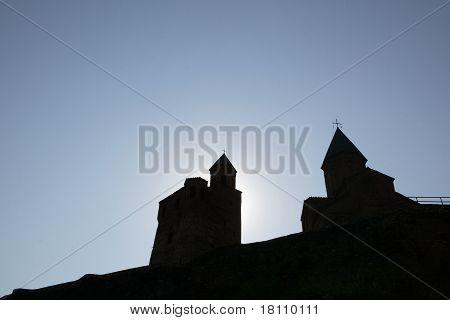 A Church And Sky