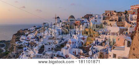 Santorini  is an island in the southern Aegean Sea,Greece