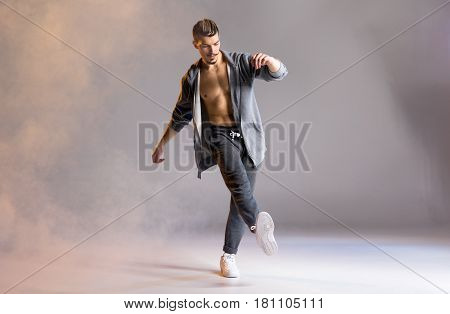 Young Man Dancing