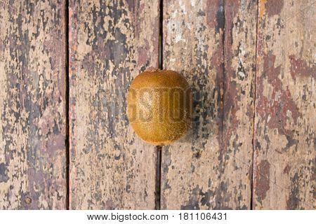 Fresh Kiwifruit or Chinese gooseberry  closeup image
