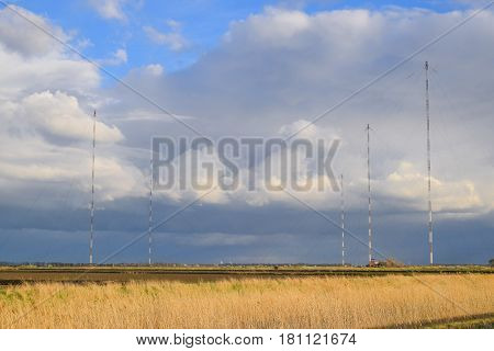 Towers Of Long-wave Communication