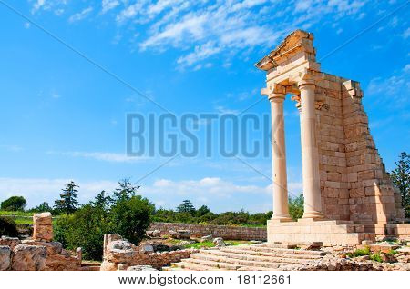 Ruins Of The Sanctuary Of Apollo Hylates