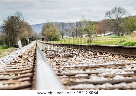 The Edge of the Rail Road Track