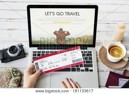Travel Journey Explorer Adventure Tour Word