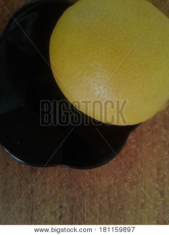 Lemon - a fruit tree evergreen plant yellow is an excellent means of preventing colds