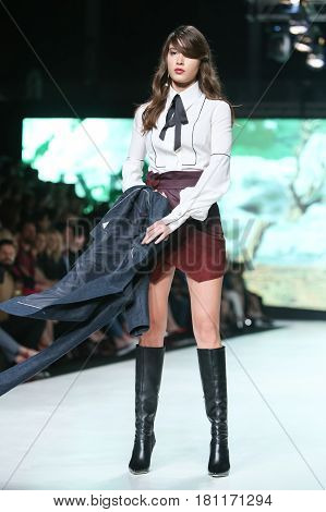 Bipa Fashion.hr Fashion Show 2017 : Ines Atelier, Zagreb, Croatia.